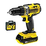 Stanley FatMax Power Tools Hammer Drill FMC625D2-QW 18V 2.0AH