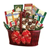 California Delicious Ghirardelli Chocolate Gift Basket, 5 Pound