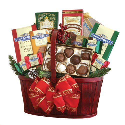 California Delicious Ghirardelli Chocolate Gift Basket