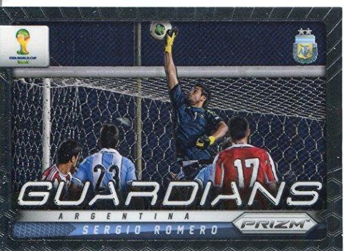 Panini Prizm World Cup 2014 Guardians Sergio Romero#2