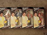 Michael Jackson Superstar of the 80's Doll Set ALL 4 Dolls - Thriller - Music Awards - Grammys - Beat it Outfits.