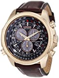 Citizen Mens BL5403-03X Eco-Drive Perpetual Calendar Chronograph Watch