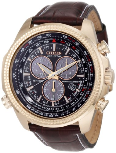 Citizen Men's BL5403-03X Eco-Drive Perpetual Calendar Chronograph Watch