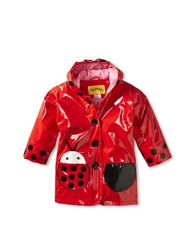Kidorable Kid's Ladybug Raincoat