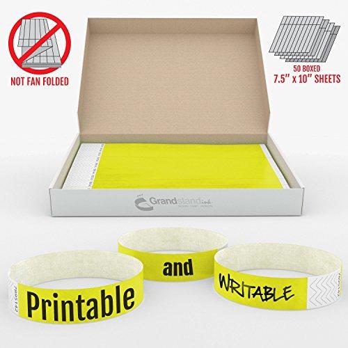 grandstandstorecom-tyvek-500ct-bracelets-adhesifs-pour-acces-vip-jaune-neon-19-mm