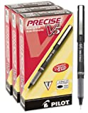 Pilot Precise V5 Stick Rolling Ball Pens, Extra Fine Point, 36 Pens, Black Ink (46054)
