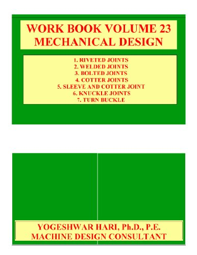 Workbook Volume 23 Mechanical Design