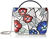 Furla Trilli Mini Printed Top Handle Convertible Cross Body Bag