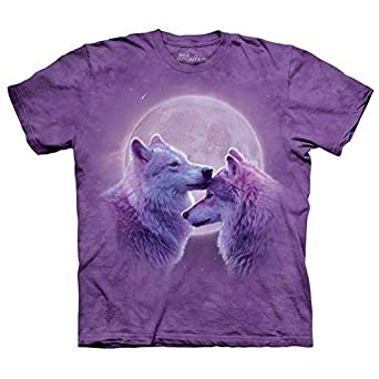 The Mountain Loving Wolves Adult T-shirt S