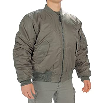 MIL-TEC Classic Retro Military Mens Jacket Vintage Look Style OLIVE, SIZE XXL by Camo Outdoor