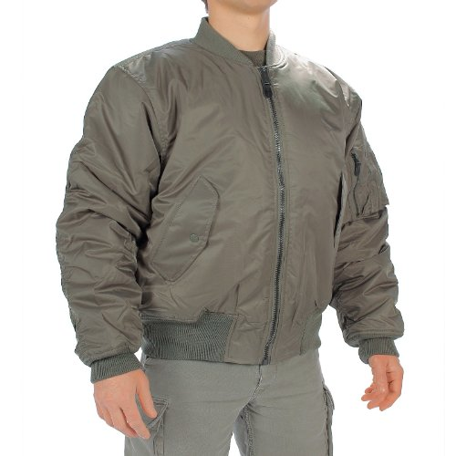 MIL-TEC Classic Retro Military Mens Jacket Vintage Look Style OLIVE, SIZE XXL by Camo Outdoor 0