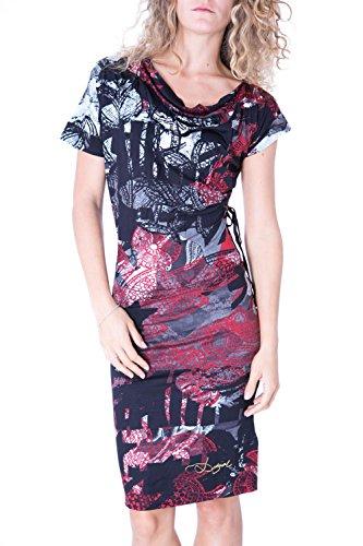 DESIGUAL - Vestito donna manica corta serena m rosso