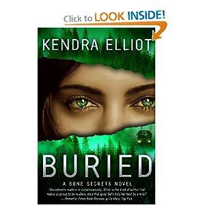 Buried (A Bone Secrets Novel) - Kendra Elliot