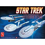 Round 2 AMT ST Enterprise Set (3 in 1) NCC1701, 1701A, 1701B  1:2500