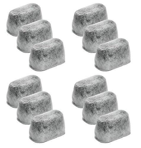 NISPIRA Charcoal Water Filter Pod for KitchenAid KCM11WF - Set of 12