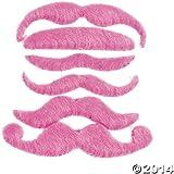 Hot Pink Mustache Assortment