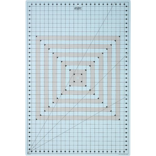 Gingher 24-Inch by 36-Inch Self-Healing Gridded Rotary Mat