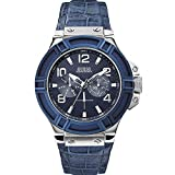 Guess Analogue Blue Dial Men Watch (W0040G7)