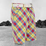 Royal & Awesome 40 Men's Loud Plaid Awesome McYell Tartan Shorts Golf
