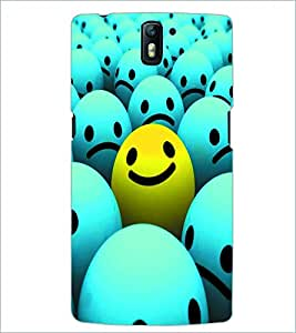 PRINTSWAG SMILEYS Designer Back Cover Case for ONE PLUS ONE
