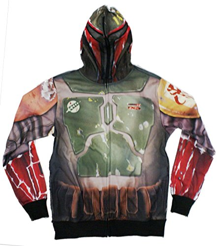 Star Wars Boba Fett Sublimated Costume Hoodie