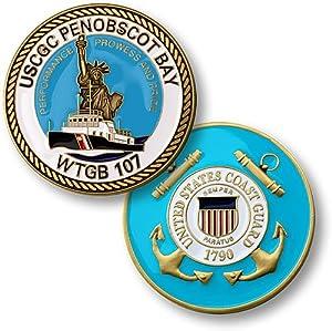 USCGC Penobscot Bay Challenge Coin