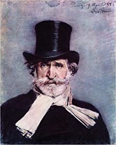 Portrait of Giuseppe Verdi Art Print Poster by Giovanni Boldini