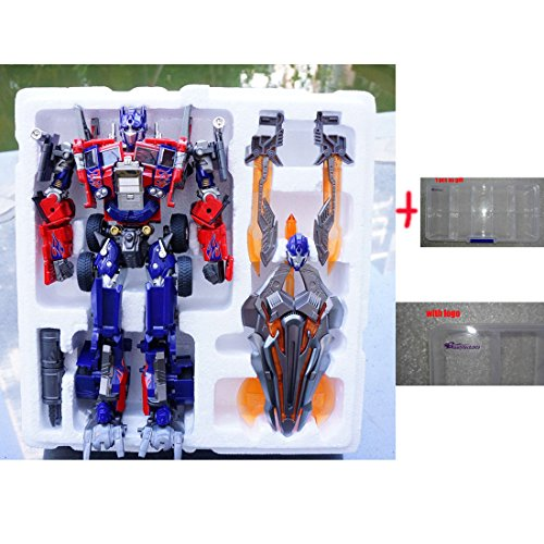 Generic WEIJIANG Transformers Oversized Optimus Prime M01 Figure Alloy Edition OP Toys