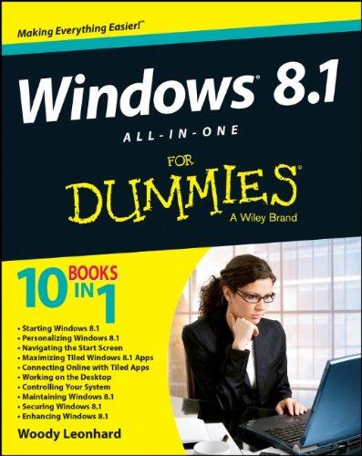 Windows 8.1 All-In-One For Dummies front-1026548