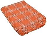 SEVEN STARS 1 Piece Cotton Bath Towel Set - Orange