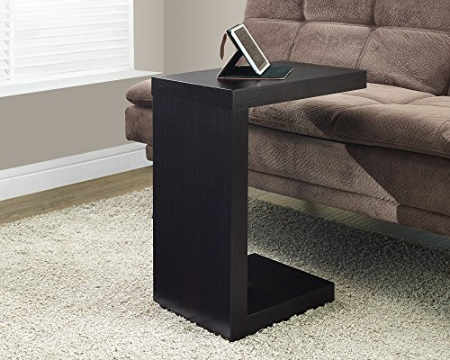 Monarch Specialties Cappuccino Hollow-Core Accent Table (Accent Coffee Table compare prices)