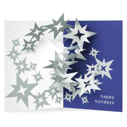 Robert Sabuda Celestial Swirl PoP-Up Holiday Cards from the MoMA ...