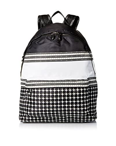 Givenchy Men's Patterned Backpack, Black