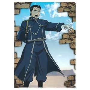 鋼の錬金術師 クリアファイル / ロイ・マスタング 『一番くじ 鋼の錬金術師』より