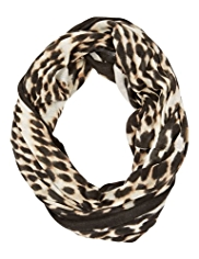 M&S Collection Lightweight Ethnic Spotted Snood Scarf