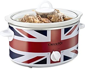 Crock-Pot Union Jack Slow Cooker, 3.5 Litre, Limited Edition
