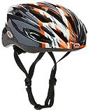 Bell Solar BS Helmet - Charcoal/Orange Shatter, One Size