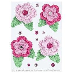 Martha Stewart Crafts Embellishments, Crochet Flowers and Gemstones