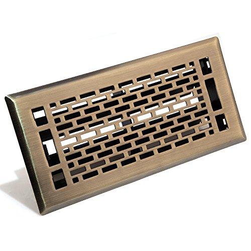 Accord amfrabma410 manhattan floor register 4 inch x 10 for 10 x 4 floor register