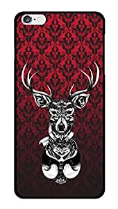 """Humor Gang Classic Dear On Wall Printed Designer Mobile Back Cover For """"Apple Iphone 6 - 6S"""" (2D, Glossy, Premium Quality Snap On Case)"""