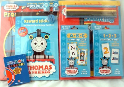 THOMAS THE TRAIN LEARN AT HOME DELUXE CARRY CASE