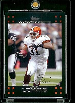 2007 Topps Football # 53 Jamal Lewis - Cleveland Browns - NFL Trading Cards