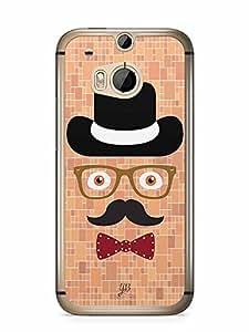 YuBingo The Complete Man Designer Mobile Case Back Cover for HTC One M8