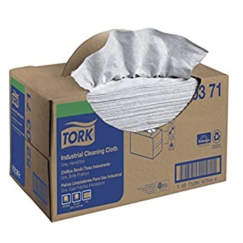 520371 Industrial Handy-Box Single-Ply paño de limpieza, Gray: Amazon