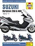 Haynes Manual for Suzuki Burgman 250 & 400 Scooters (98 - 11) Including a Free AA Microfibre Magic Mitt