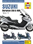 Suzuki Burgman 250 400 Repair Manual...