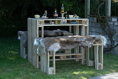 palencia palettenm bel sitzgruppe aus hochwertig geschliffenen m belpaletten used look. Black Bedroom Furniture Sets. Home Design Ideas