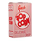 Snappy Popcorn 1E Close-top Popcorn Box, 100/Case, 5 Pound