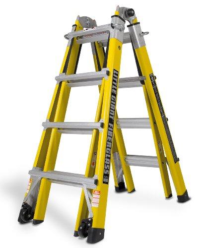 Model 17 1a Fiberglass Ultra Lite Little Giant Ladder