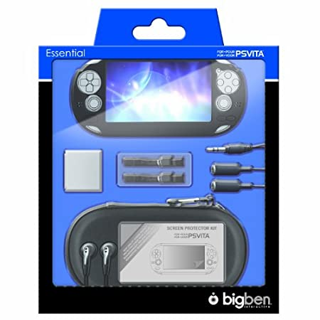 Bigben 10 Accessory Pack for PlayStation Vita (Black)